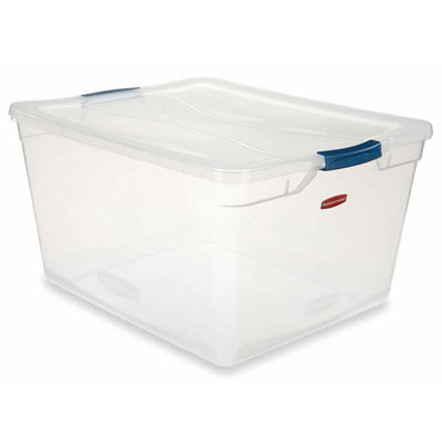 Rubbermaid Clever Store Basic Latch-Lid Container
