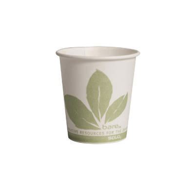 SOLO Cup Company Bare Eco-Forward Paper Water Cups