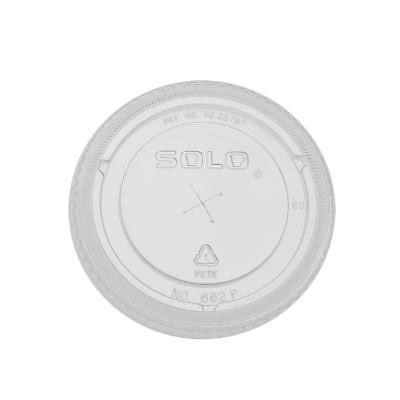 SOLO Cup Company Straw-Slot Cold Cup Lids