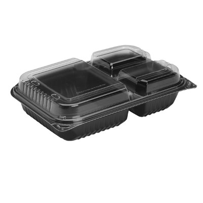 SOLO Cup Company Hinged-Lid Dinner Box