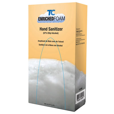TC Manual Enriched Foam Bag-In-A-Box Refill