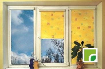 3 створки большое окно