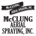 Website for McClung Aerial Spraying, Inc.