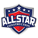 Website for All Star Construction, Inc.