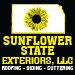 Website for Sunflower State Exteriors, LLC