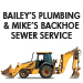 Website for Bailey Plumbing/Mike's Backhoe & Sewer Service