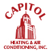 Website for Capitol Heating & Air Conditioning, Inc.
