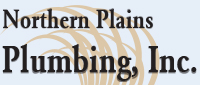 Website for Northern Plains Plumbing, Inc.