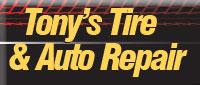 Website for Tony's Tire & Auto Repair