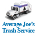 Website for Average Joe's Trash Service