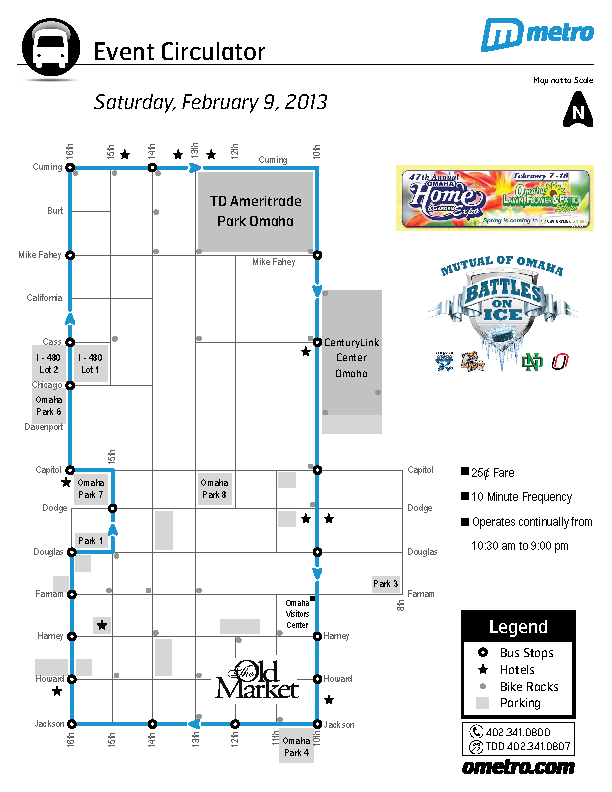 Event Circulator Map