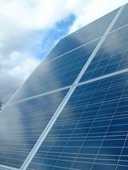 image of a solar array