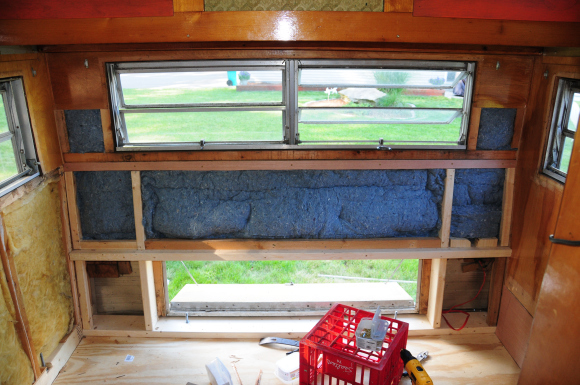 image of adding insulation