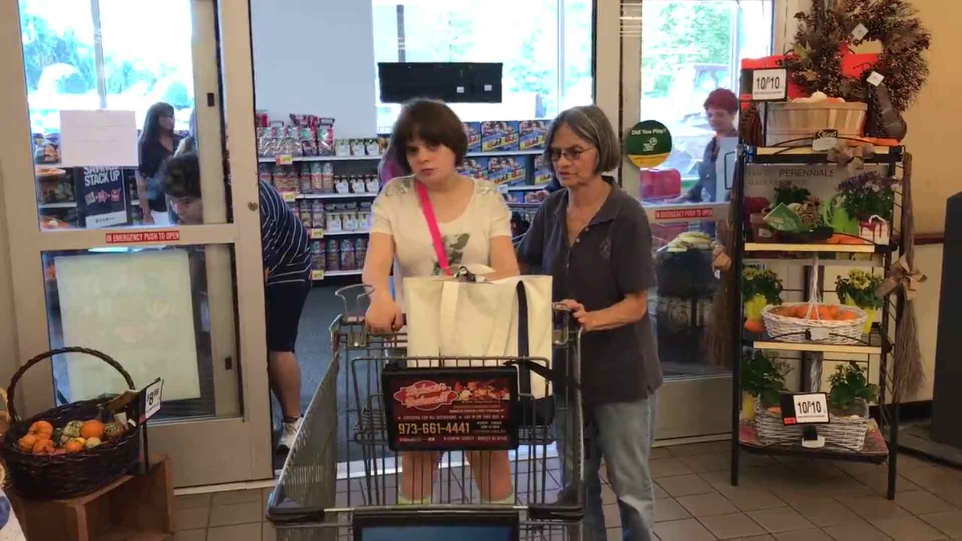 Special needs students gain shopping experience