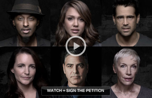 Watch and sign the petition