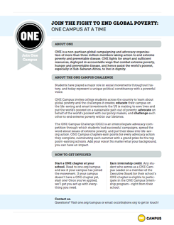 ONE Campus Toolkit