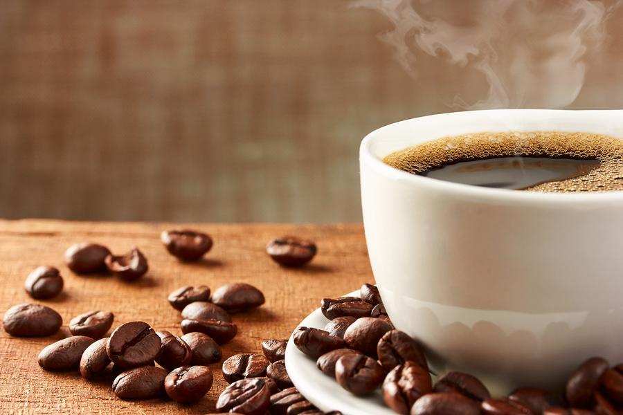 white coffee mug on table