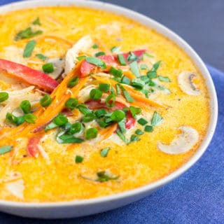 Coconut Curry Chicken Soup with Quinoa