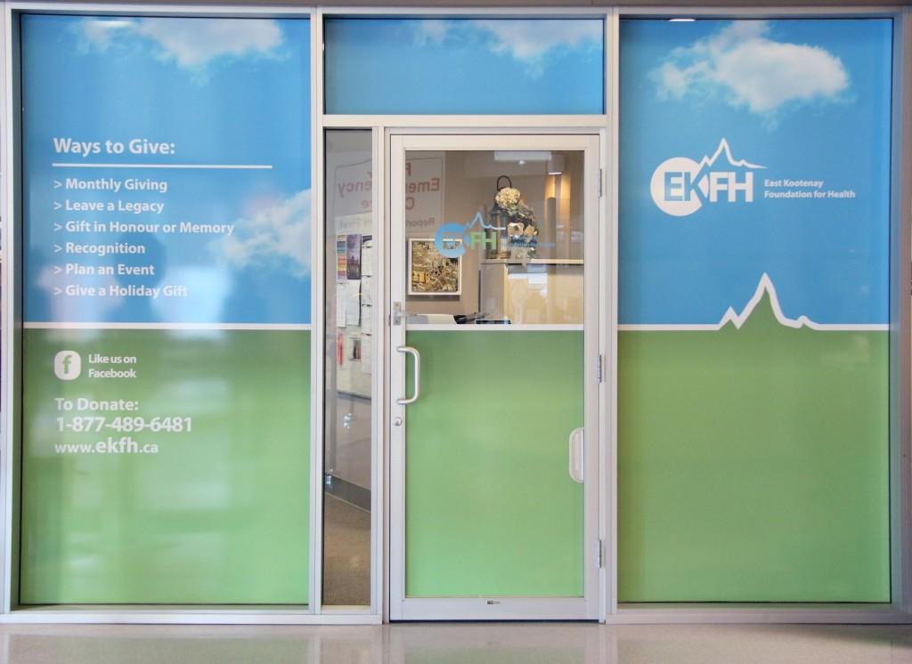 Front door of EKFH
