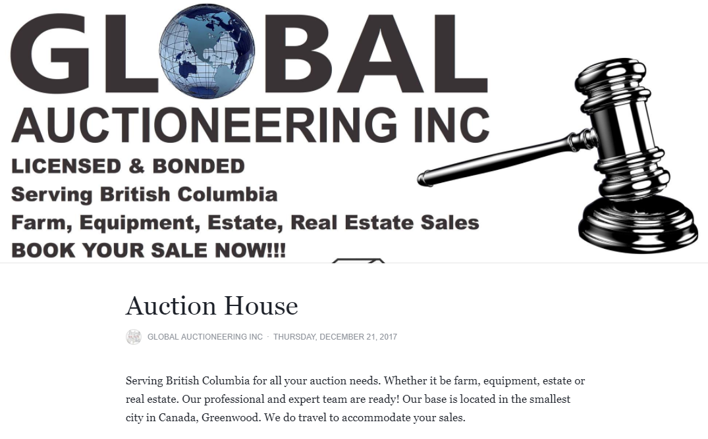 Global Auctioneering Inc.