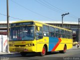 �nibus Via��o Janu�ria 571, CAIO Alpha, Mercedes-Benz OF-1620, foto em Mau� - SP. Por Sandro Alves.