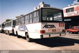�nibus Auto Via��o Alpina 23, CAIO Am�lia, Mercedes-Benz OF-1113, foto em Diadema - SP. Por Marcelo Foshi.