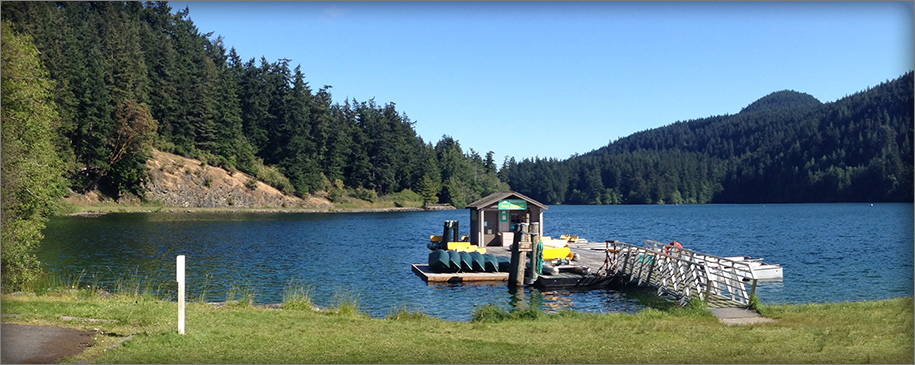 Cascade Lake, Moran State Park, Orcas Island, San Juan Islands