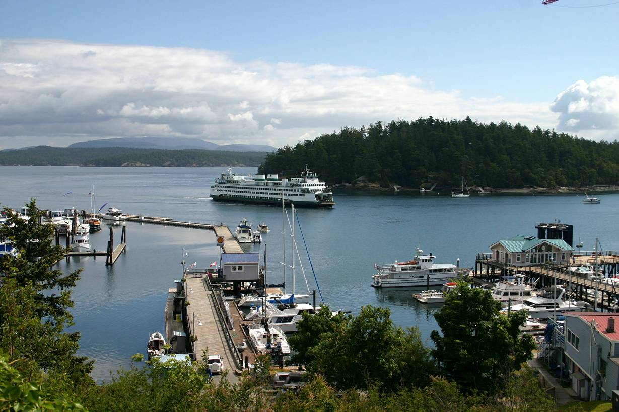 San Juan Island Ferry to Friday Harbor