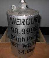 Mercury (Silver & Red - 99% Purity)