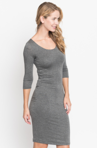 solid midi dress, women midi dresses, latest midi
