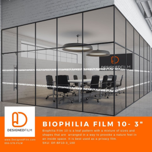 Custom Privacy Film to Highlight Your Brand