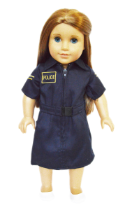 American Girl Doll Clothes Police Uniform