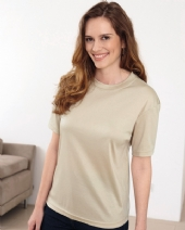 Silky Cotton Crew Neck Top available in 17 colours 054
