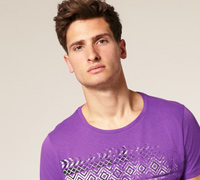 mens round neck tshirt