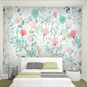 Botanical Tale Floral Wall Mural
