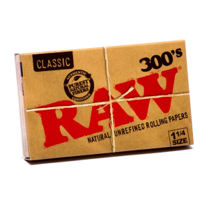 RAW ORGANIC HEMP NATURAL UNBLEACHED ROLLING PAPERS