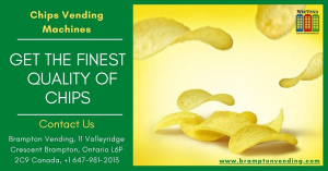 Get the finest chips quality vending machines in Brampton