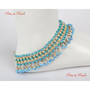 Fashion Anklets - Indo-western style anklet