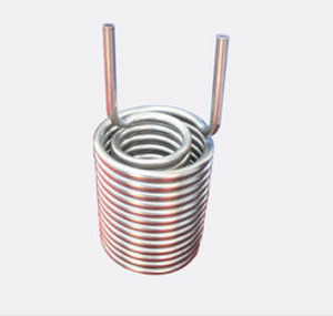 Titanium Helical Coiled Heat Exchanger