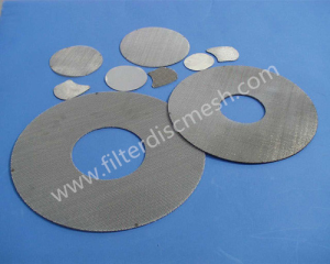 Extruder Screen Filter Disc