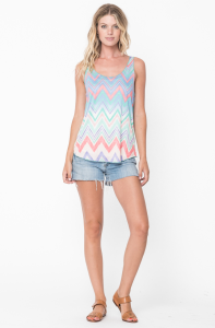 chevron tank tops