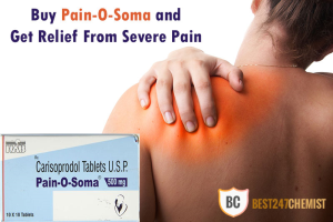 Buy Pain O Soma 500mg - Carisoprodol Online In USA