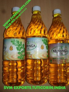 SVM EXPORTS INDIA Ben Oil(Moringa Oil)