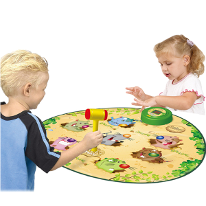 Whack A Mole Playmat with Hammer