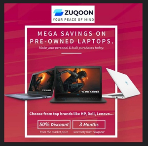 Pre-Owned Laptops Sale