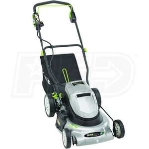 "Earthwise (20"") 24-Volt 3-In-1 Cordless Electric Push Lawn Mower"