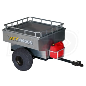 ATV Wagon 30 Cubic Foot Aluminum Trailer