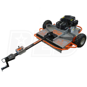 """Dirty Hand Tools (46"""") 15HP Tow-Behind Rough Cut Mower w/ Electric Start"""