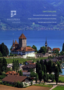 Prospera International Exclusive Switzerland