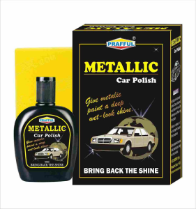 PRAFFUL Metallic car Polish  125ML